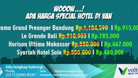 Dapatkan Harga Special Reservasi Hotel di VAN