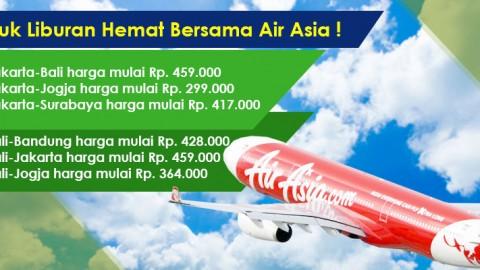 Liburan Hemat Bersama Air Asia