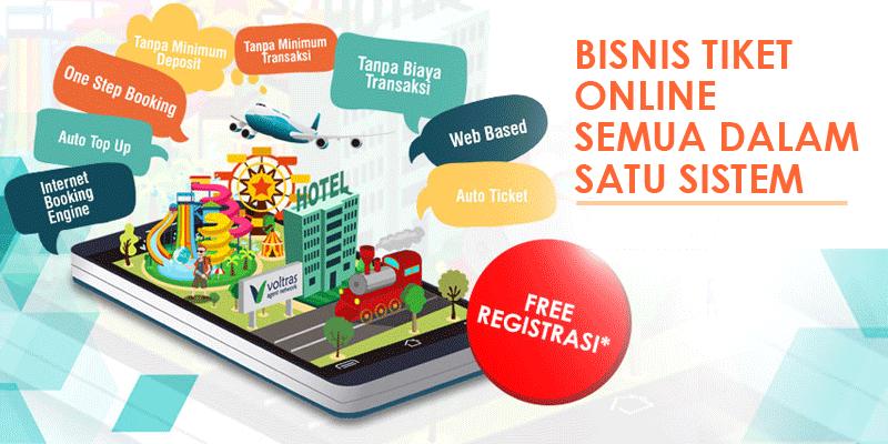 bisnis tiket online gratis
