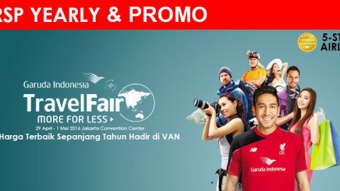 RSP Yearly dan RSP Promo GATF 29 April – 1 Mei 2016