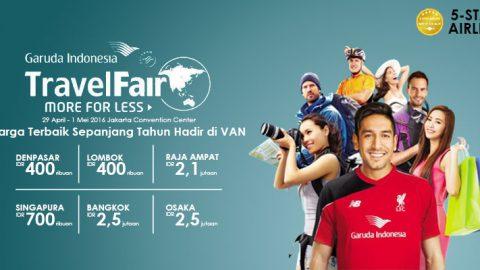 Pesta Tiket Murah Garuda Indonesia hadir di VAN