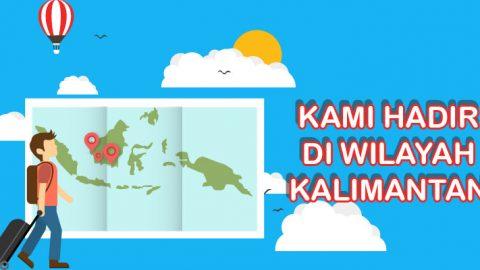 Van Kelayapan hadir di Kalimantan, Registrasi cuma 100Ribu