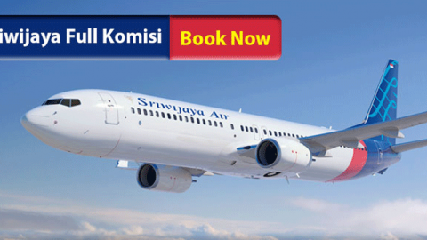 Booking & Issued Sriwijaya Air di VAN, FULL KOMISI.