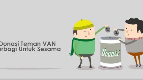 [DONASI VAN] Teman VAN berbagi donasi di bulan Ramadhan