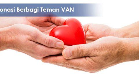 Donasi berbagi Teman VAN