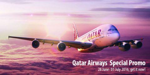 Qatar Airways Special Promo hadir di VAN