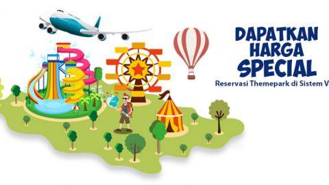 Promo Special Fare Theme Park di Sistem VAN