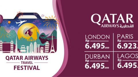 Spesial Promo QATAR Airways Travel Festival di Voltras Agent Network