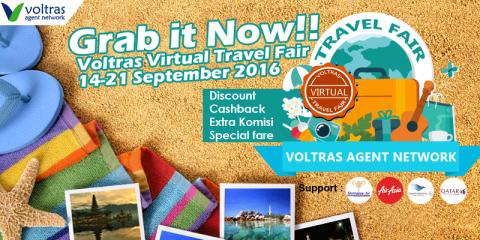 Kejutan Menarik di Voltras Virtual Travel Fair 2016
