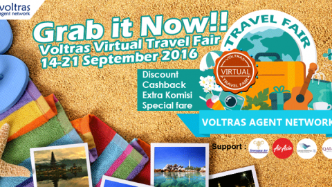 Kejutan Menarik di Voltras Virtual Travel Fair 2016