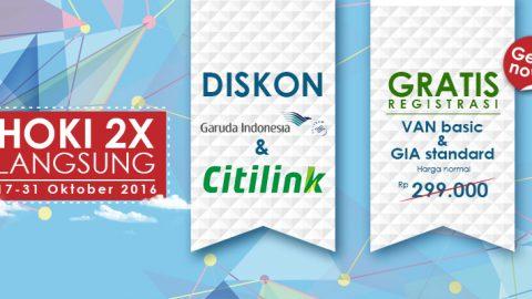 Diskon Garuda Indonesia & Citilink Setiap Hari Di Voltras Agent Network