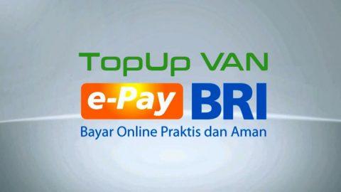 Top Up Pakai E-Pay BRI Bukan Impian