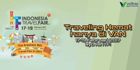 Semarak Indonesia Travel Fair Hadir di Sistem VAN