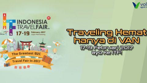 Semarak Indonesia Travel Fair Hadir di Sistem VAN
