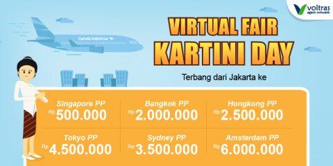 Garuda Indonesia Virtual Fair Kartini Day