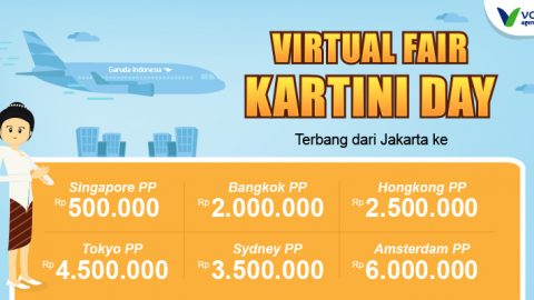Garuda Indonesia Virtual Fair Kartini Day