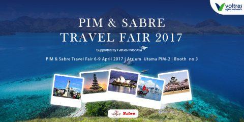 PIM dan Sabre Travel Fair 2017